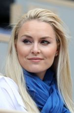 Lindsey Vonn At the 2019 French Open Roland Garros at Le Village in Paris