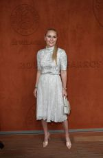 Lindsey Vonn Attends the 2018 French Open at Roland Garros in Paris