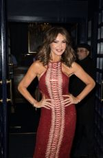 Lizzie Cundy At Tales from the Red Carpet Book Launch in London