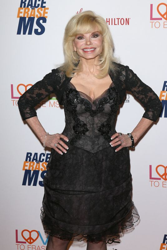 Loni Anderson Arrives to The 26th Annual Race to Erase MS Gala held at The Beverly Hilton in Beverly Hills