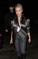 Lottie Moss Outside a Christian Dior party in London