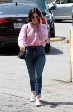 Lucy Hale O&A in Studio City
