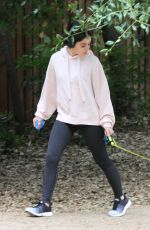 Lucy Hale Out Hiking in Los Angeles