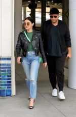 Lucy Hale Shopping outing with a friend at the Beverly Center in LA