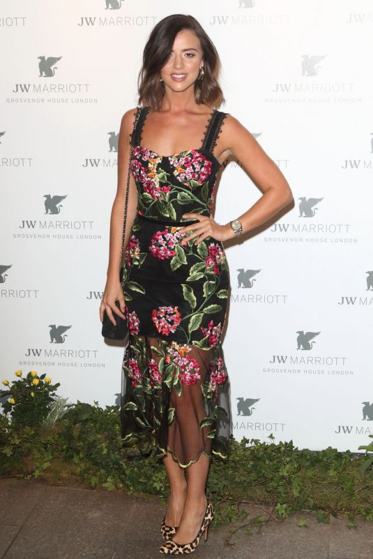 Lucy Mecklenburgh At JW Marriott Grosvenor House 90th Anniversary Party in London