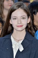 Mackenzie Foy At The Sun Is Also A Star Premiere in LA