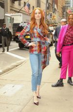Madelaine Petsch At Strahan & Sara to talk about the current season of