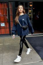 Madison Beer At her Hotel in NYC