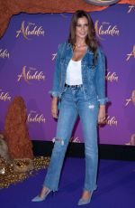 Malika Menard At Aladdin Gala Screening in Paris
