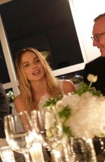 Margot Robbie At Chanel dinner in Cannes