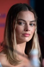 Margot Robbie At Once upon a time in Hollywood press conference in Cannes
