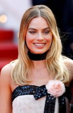 Margot Robbie At Once Upon A Time In Hollywood Screening in Cannes