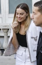 Margot Robbie Out in Cannes