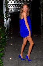 Martha Hunt Arrives at Her Birthday Party in New York
