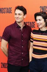 Mary Elizabeth Winstead At Cast of Dying City Meets the Press in NY