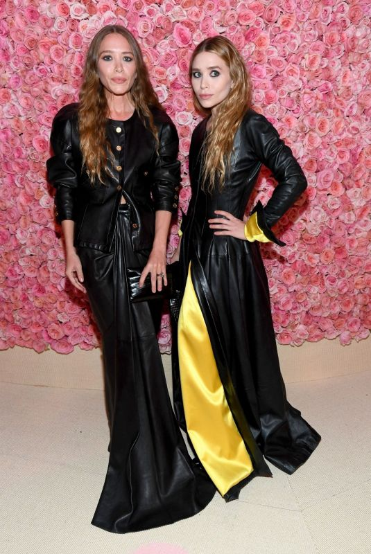 Mary-Kate Olsen & Ashley Olsen At The 2019 Met Gala Celebrating Camp: Notes on Fashion at Metropolitan Museum of Art in New York City