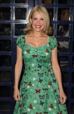 Melinda Messenger At Tales from the Red Carpet Book Launch in London