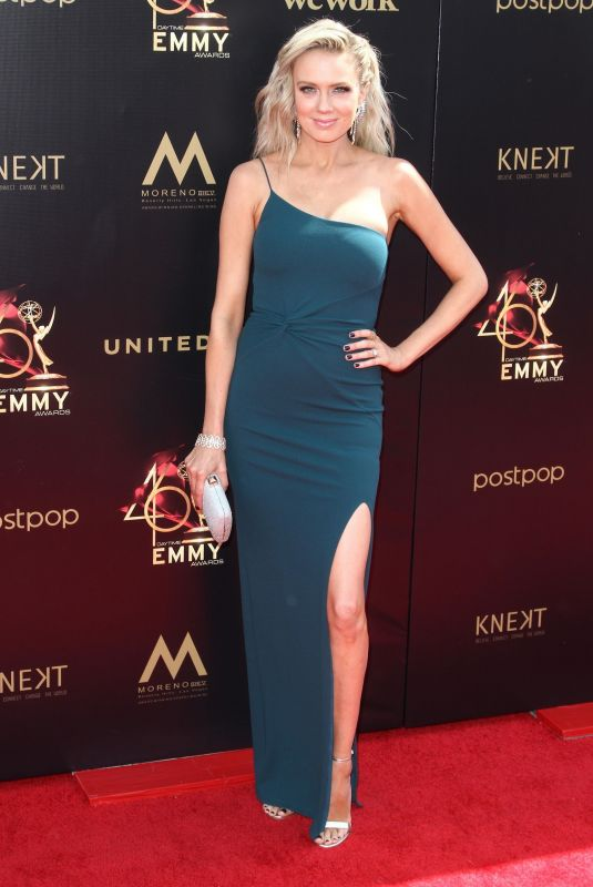 Melissa Ordway At 46th Annual Daytime Emmy Awards, Pasadena Civic Auditorium, Los Angeles