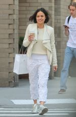 Michelle Rodriguez Shops at Apple Store in NYC