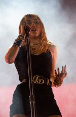 Miley Cyrus At BBC Radio 1 Big Weekend in Middlesborough England