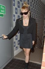 Miley Cyrus Outside The Soho Hotel in London