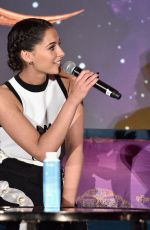 Naomi Scott At Press conference for