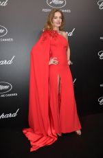 Natalia Vodianova At The Chopard Trophy event during the 72nd annual Cannes Film Festival in Cannes