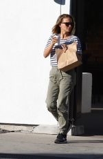 Natalie Portman Spotted stepping out in Los Angeles