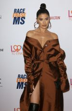 Nicole Williams English Arrives to The 26th Annual Race to Erase MS Gala held at The Beverly Hilton in Beverly Hills
