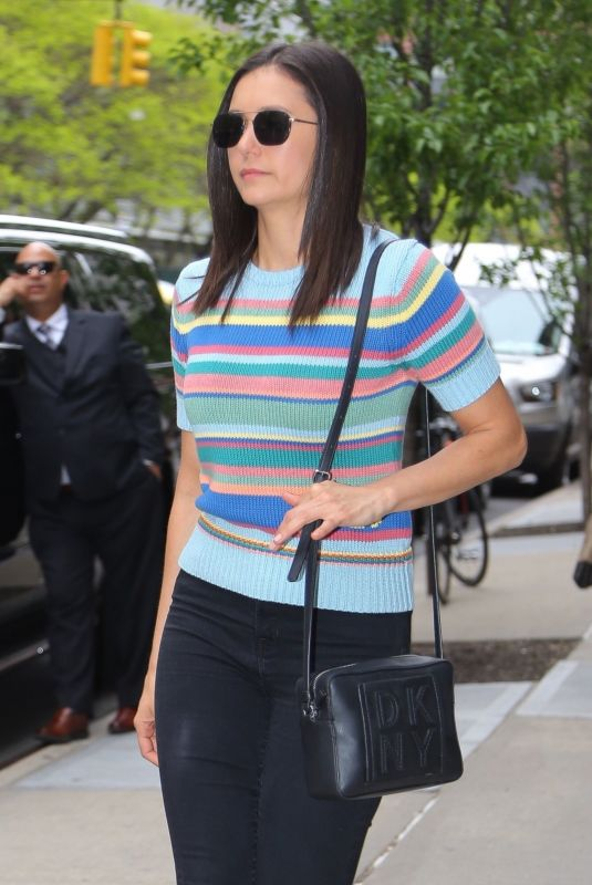Nina Dobrev Leaving The Greenwich Hotel in NYC