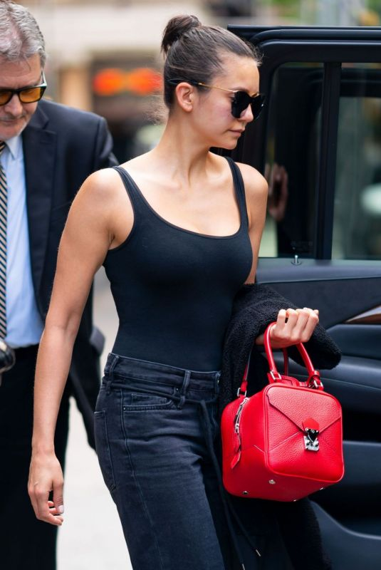 Nina Dobrev Out and about in Tribeca, NYC