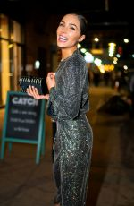 Olivia Culpo Arriving at her 27th Birthday Party at the Catch in New York City