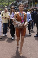 Olivia Culpo At F1 Grand Prix of Monaco in Monte-Carlo