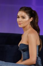 Olivia Culpo At Sports Illustrated Swimsuit On Location at Ice Palace in Miami
