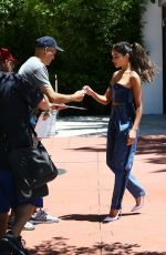 Olivia Culpo Leaving her Hotel in Miami