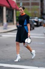 Olivia Culpo Out in Tribeca New York