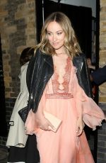 Olivia Wilde Leaving the Chiltern Firehouse in London