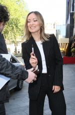 Olivia Wilde Seen arriving at Global studios in London