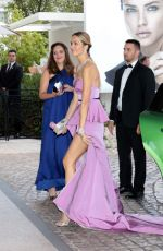 Petra Nemcova Arrives at Hotel Martinez in Cannes