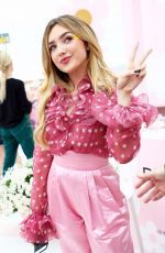 Peyton List At Marc Jacobs Daisy Love Eau So Sweet Fragrance Pop-Up Event in LA