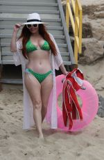 Phoebe Price At the beach in Malibu