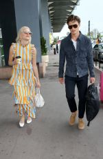 Pixie Lott At Nice Airport in France