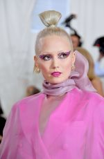 Pom Klementieff At The 2019 Met Gala Celebrating Camp: Notes on Fashion at Metropolitan Museum of Art in New York City