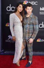Priyanka Chopra and Nick Jonas At Billboard Music Awards at MGM Grand Garden Arena Las Vegas
