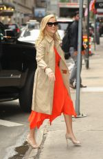 Reese Witherspoon Arrives at Good Morning America in New York City