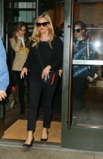 Reese Witherspoon & Ava Phillippe leaving their hotel in NYC