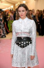 Riley Keough At The 2019 Met Gala Celebrating Camp: Notes on Fashion at Metropolitan Museum of Art in New York City
