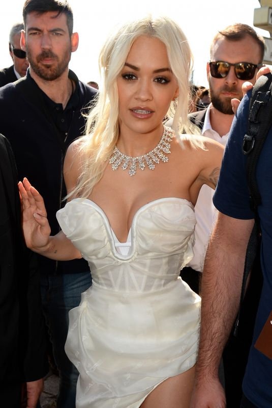 Rita Ora Out and about at the 72nd Cannes Film Festival