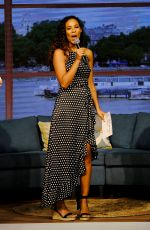 Rochelle Humes At This Morning Live in Birmingham
