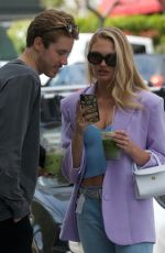 Romee Strijd and boyfriend Laurens van Leeuwen grab Green Juice in West Hollywood